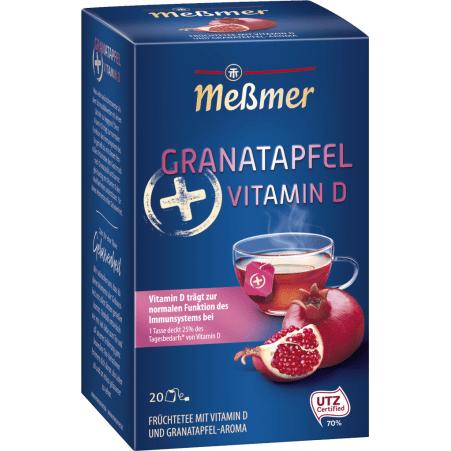 MESSMER Plus-Tee Granatapfel