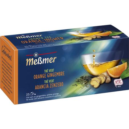 MESSMER Grüner Tee Orange-Ingwer