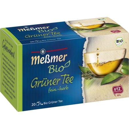MESSMER Bio Grüner Tee