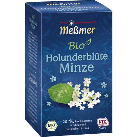 MESSMER Bio Holunderblüte Minze