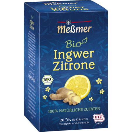 MESSMER Bio Ingwer-Zitrone