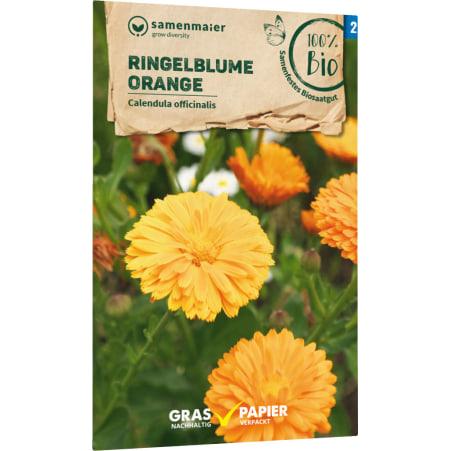 Samen Maier Bio Bio Samen Ringelblume orange