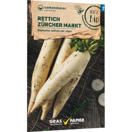 Samen Maier Bio Bio Samen Rettich Zürcher Markt