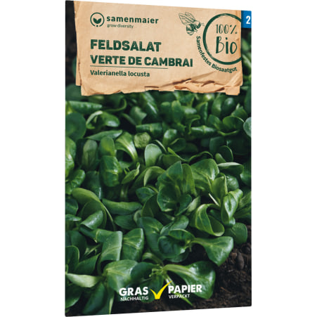 Samen Maier Bio Bio Samen Feldsalat Verte de Cambrai