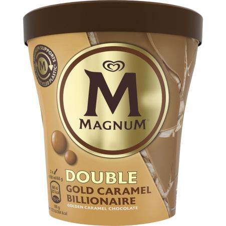 Magnum Magnum Becher Double Gold Billionaire