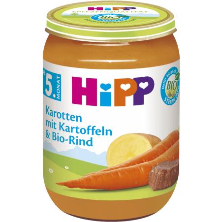 HiPP Karotten-Kartoffeln-Rind 4. Monat