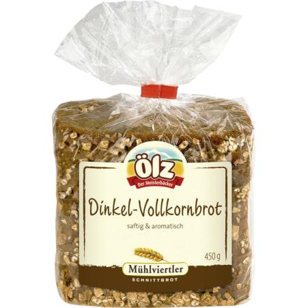 Ölz der Meisterbäcker Dinkel-Vollkornbrot