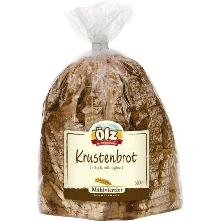 Ölz der Meisterbäcker Krustenbrot geschnitten