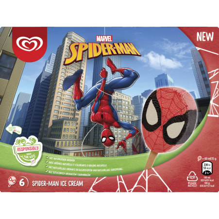 Eskimo Disney Spiderman 6er-Packung