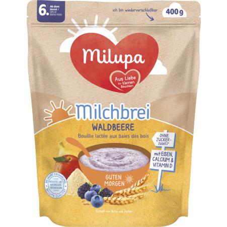 Milupa Milchbrei Waldbeere ab 6.Monat