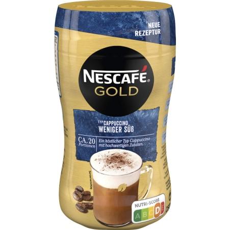 NESCAFE Gold Cappuccino weniger süß 250 gr