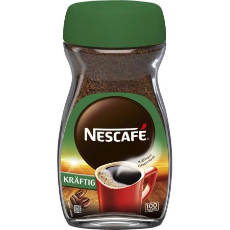 NESCAFE Classic löslicher Kaffee kräftig