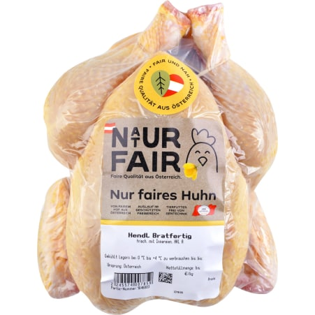 Naturfair Hendl bratfertig