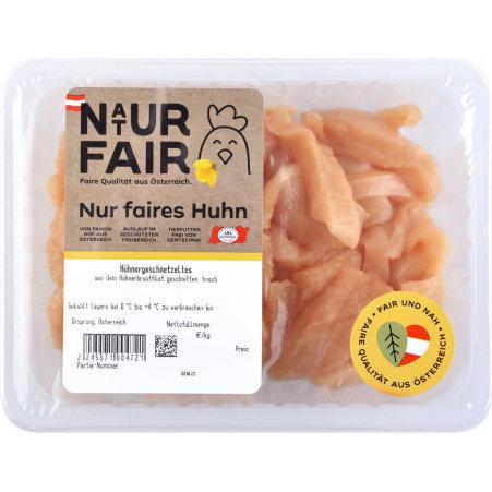 Naturfair Hühner Geschnetzeltes