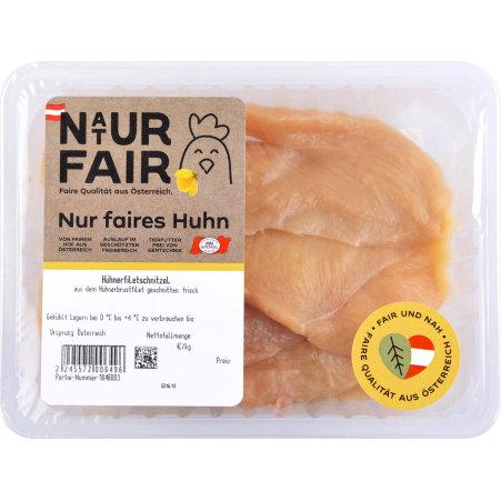 Naturfair Hühnerfiletschnitzel