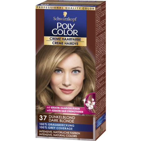Poly Color Cremehaar Poly Color Creme Haarfarbe Dunkelblond