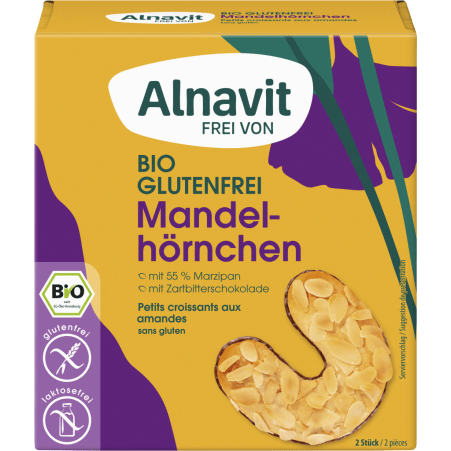 Alnavit Bio Mandelhörnchen