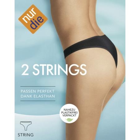 Nur Die String 2er-Packung