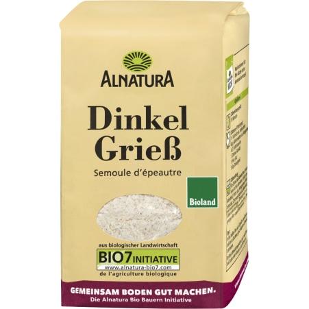 Alnatura Bio Dinkel Grieß