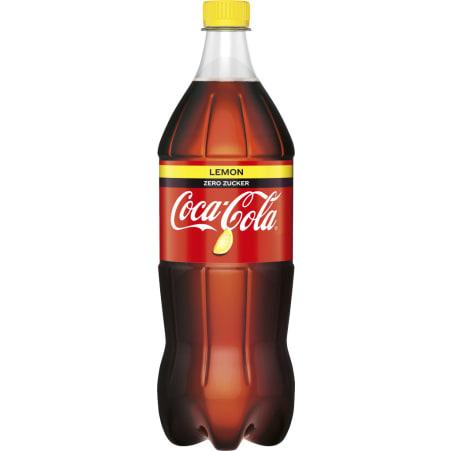Coca-Cola Zero Lemon 1,0 Liter