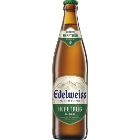 Edelweiss Weißbier Hefetrüb 0,5 Liter Mehrweg-Flasche
