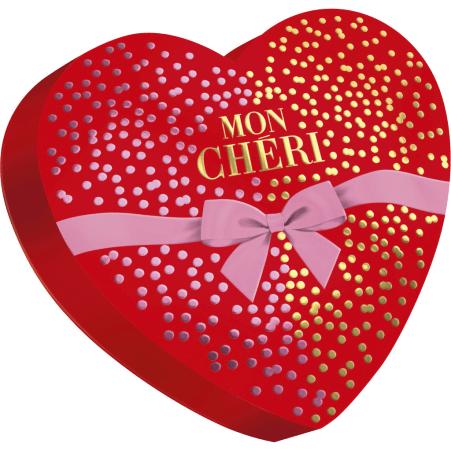 Ferrero Mon Cheri Herzform