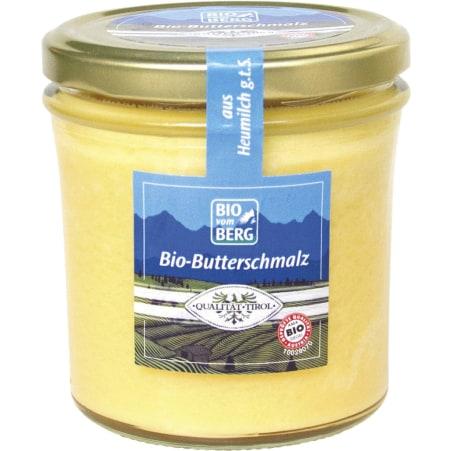 BIO vom BERG Bio Tiroler Butterschmalz 250 gr