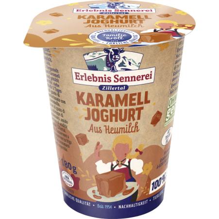 ErlebnisSennerei Zillertal Heumilchjoghurt Karamell