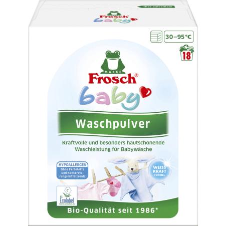 Frosch Baby Waschpulver 18 Waschgänge