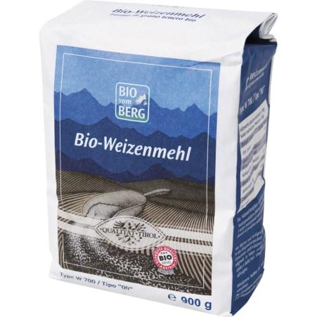 BIO vom BERG Tiroler BIO Weizenmehl W700 900g