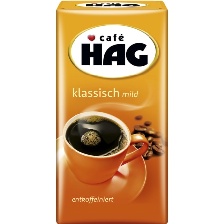 CAFE HAG Kaffee gemahlen entkoffeiniert mild