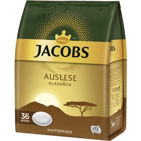 JACOBS Auslese Klassisch 36 Pads