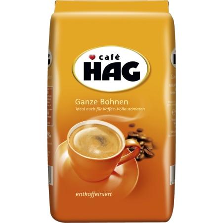CAFE HAG Kaffee ganze Bohne entkoffeiniert