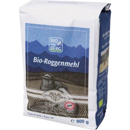 BIO vom BERG Bio Roggenmehl Type 960