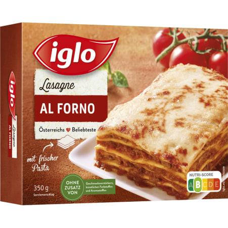 iglo Lasagne al Forno 350 gr
