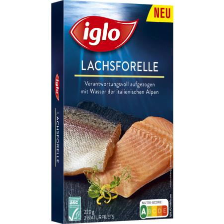 Iglo Lachsforelle Naturfilets ASC