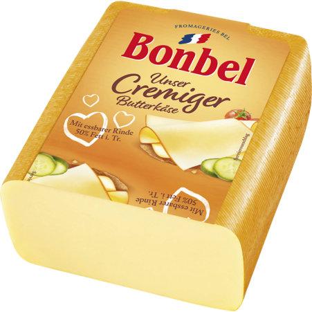 BONBEL Fromageries Bel Bonbel Butterkäse 50%