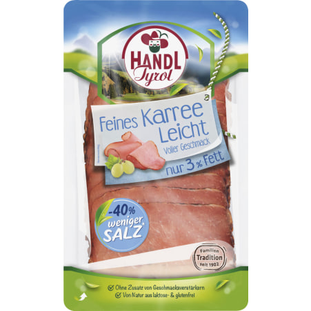 HANDL TYROL Karree leicht salzreduziert