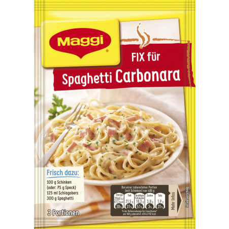 MAGGI Fix Pasta Carbonara