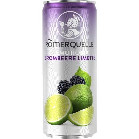 Römerquelle Emotion Brombeere-Limette 0,33 Liter Dose