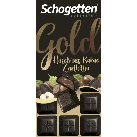Schogetten Gold Haselnuss-Kakao-Zartbitter
