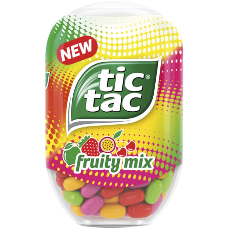 Tic Tac Tic Tac Bottle Pack Fruity Mix