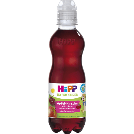HiPP  Apfel-Kirsche stilles Mineral 12. Monat