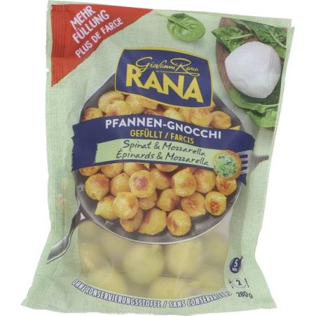 Pastificio RANA S.p.A. Pfannen-Gnocchi Spinat-Mozzarella