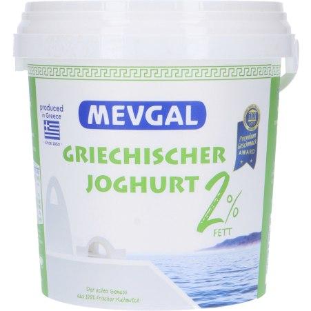 Mevgal Griechischer Joghurt 2% Fett Kübel