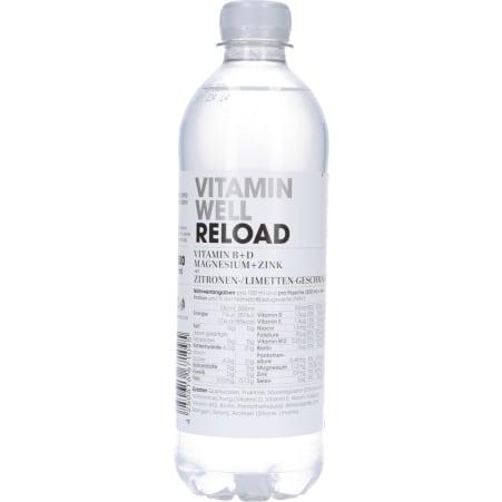 Vitamin Well Reload 0,5 Liter