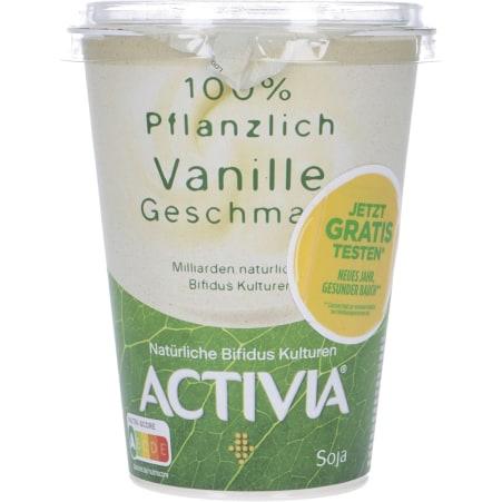 Danone Activia 100% Pflanzlich Vanille