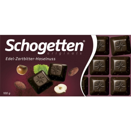 Schogetten Zartbitter-Haselnuss