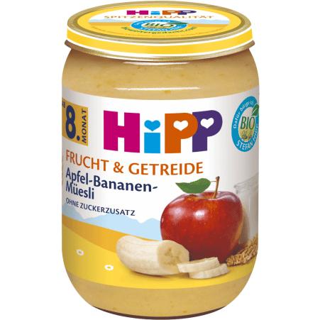 HiPP Apfel-Bananen-Müsli 8. Monat