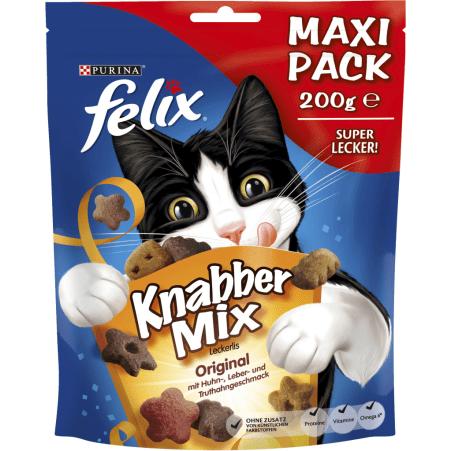 PURINA Felix Knabber Mix Original 5 x 200 gr